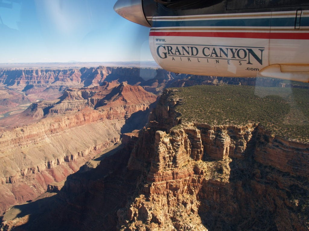 Grand Canyon Fly Past