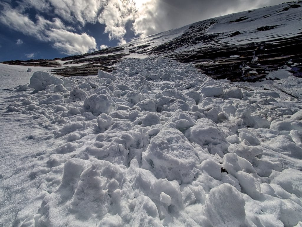 Broad Cairn Avalanche
