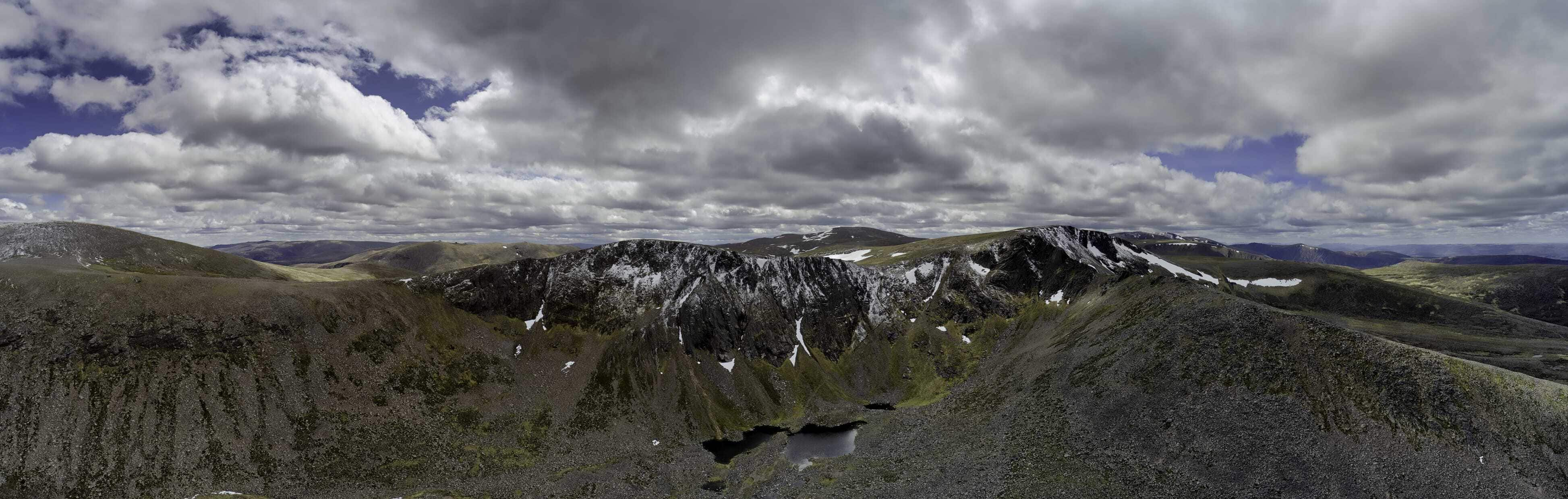 The Northern Corries of the Cairngorms. Scotland