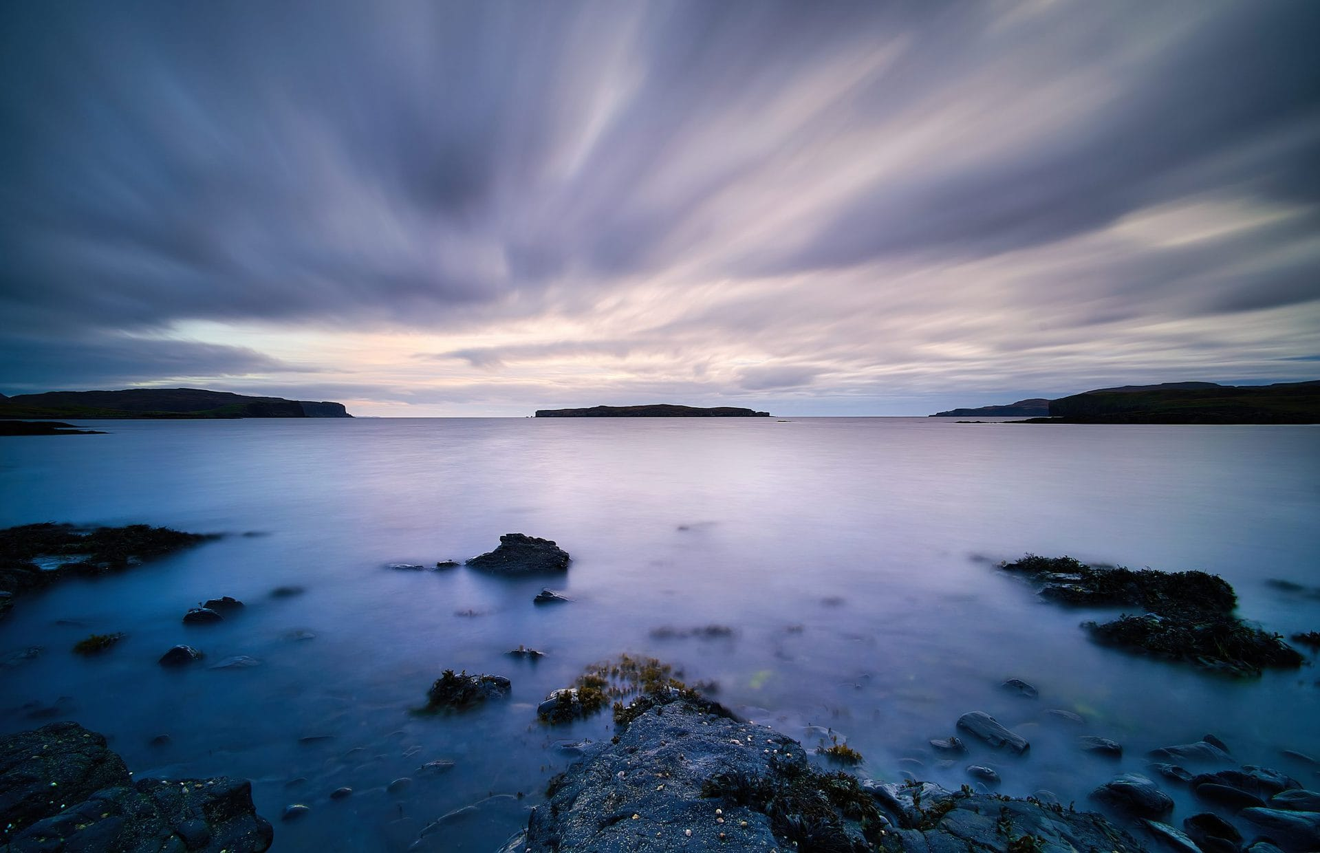 The last of the evening light. Eabost, Isle of Skye