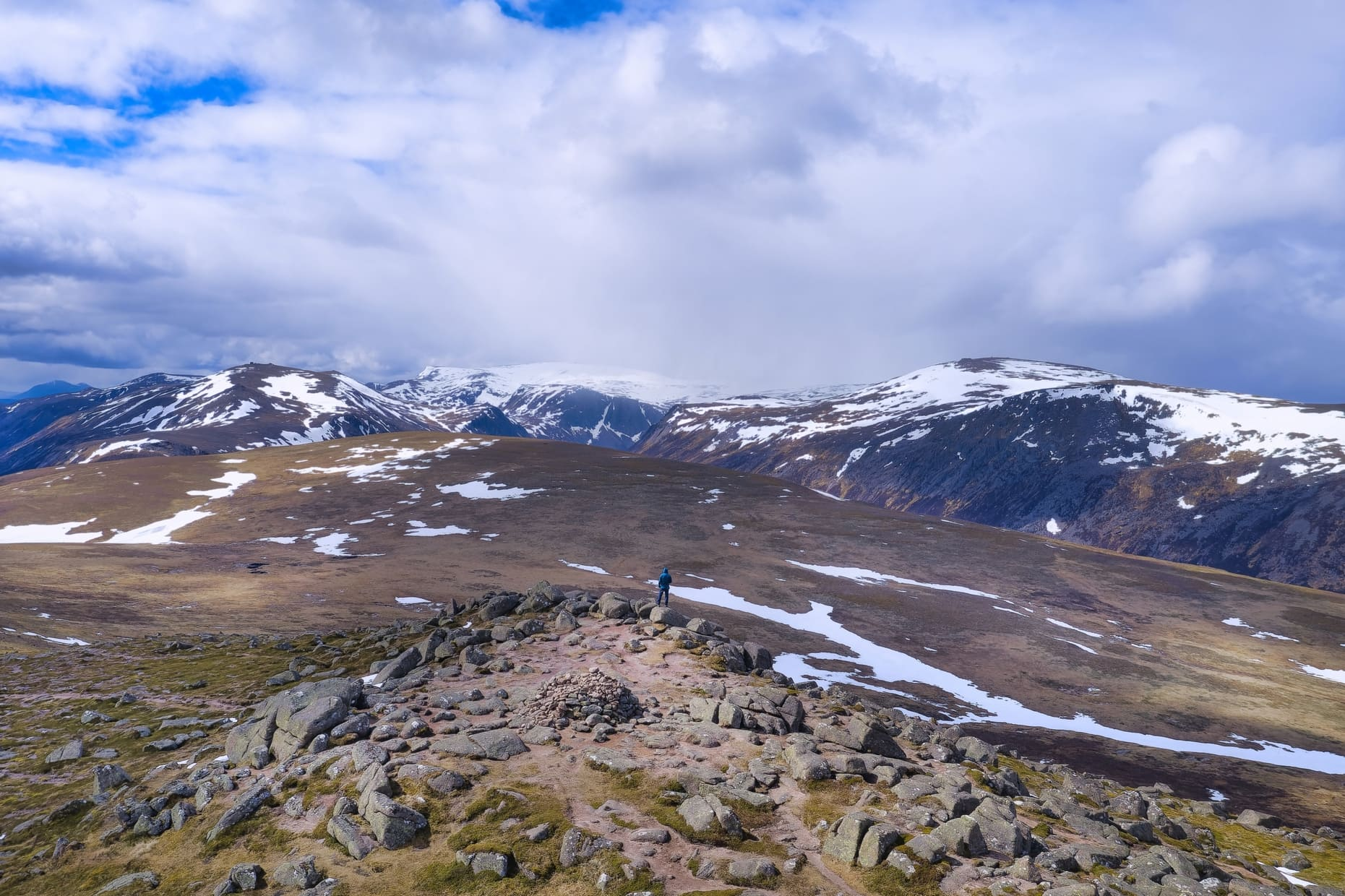 Bynack More. The Cairngorms, Scotland
